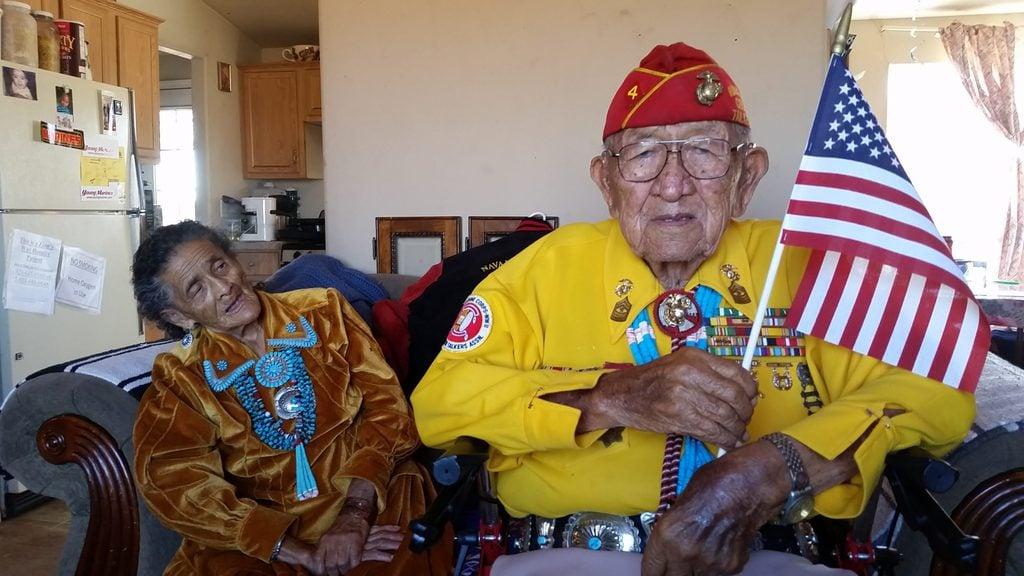 Navajo Code Talker celebrates Veteran's Day and 94th Birthday