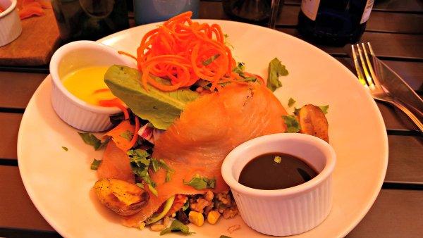 plate of food at Village Grind restaurant