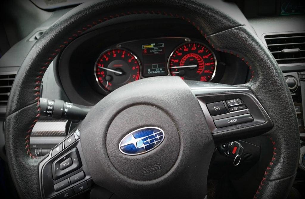 Stacey steering wheel