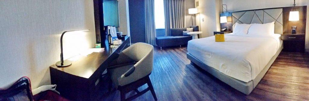 Hyatt Regency Rochester room and amenities