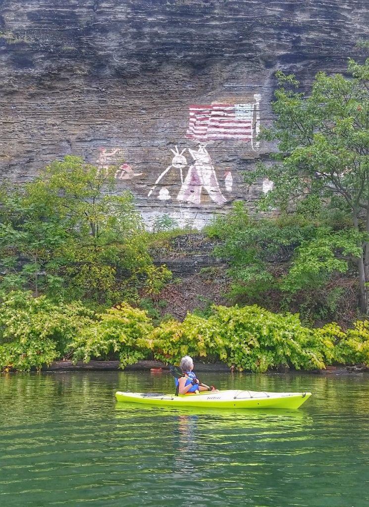 Painted Rocks Seneca Lake