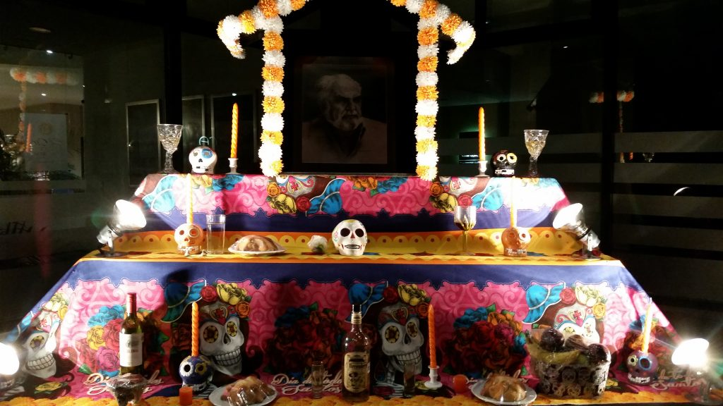 Day of the Dead altar called ofrenda