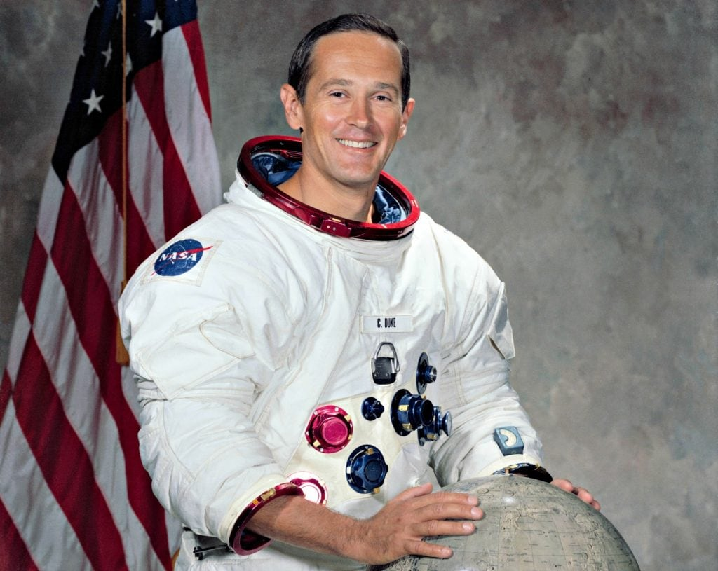 NASA Portrait of young Charlie Duke