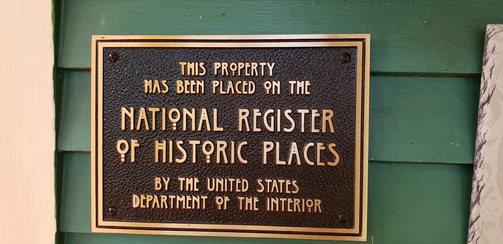 This Property has been placed on the National Register of Historic Places by the US Department of Interior at this Asheville NC B&Bs
