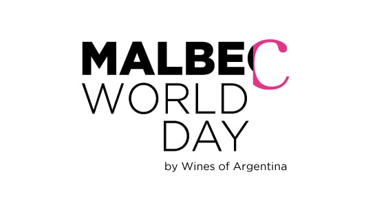 Graphic with text: Malbec World Day by Wines of Argentina